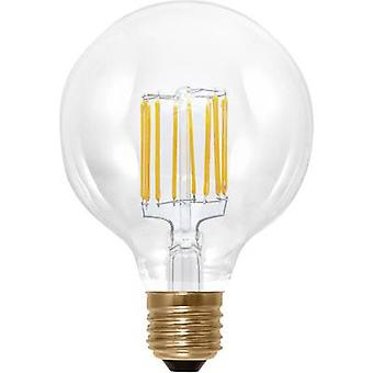 Segula LED (monochrome) EEC A+ (A++ - E) E27 Globe 6 W = 35 W Warm white (Ø x L) 95 mm x 130 mm dimmable, Filament 1 pc(s)