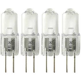 Sygonix HV halogen EEC: C (A++ - E) G4 32 mm 12 V 5 W Warm white 1 Set