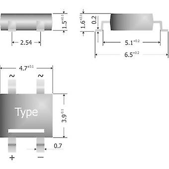 Diotec S380-SLIM Diode bro til 269AA 800 V 0.8 A 1-faset