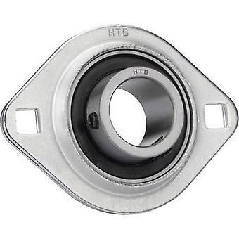 Flange bearing HTB Steel plate SBPFL 204 Bore diameter 20 mm Hole spacing 71.5 mm