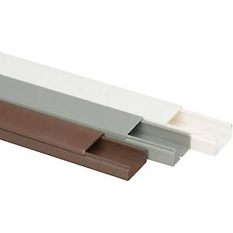 Heidemann 09954 Cable duct (L x W x H) 2000 x 30 x 15 mm 1 pc(s) Brown
