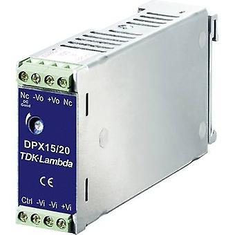 TDK-Lambda DPX-15-48WS-05 Rail gemonteerde PSU (DIN) DC/DC 5 V DC 3 A 15 W 1 x