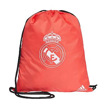 2018-2019 real Madrid Adidas Gym väska (röd)