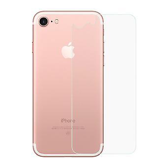 Apple iPhone 7 / 8 tank bescherming glas terug terug terug glas echte glas transparant