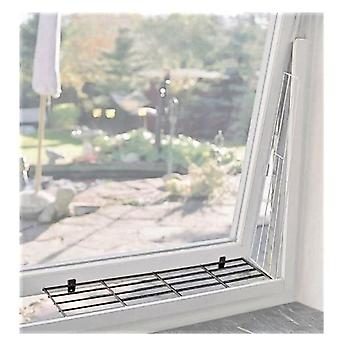 Trixie White Protective Grille for Windows 62x16 Cm.