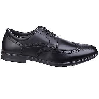 Hush šteňatá Pánske Cale Oxford Wing tip kožené topánky