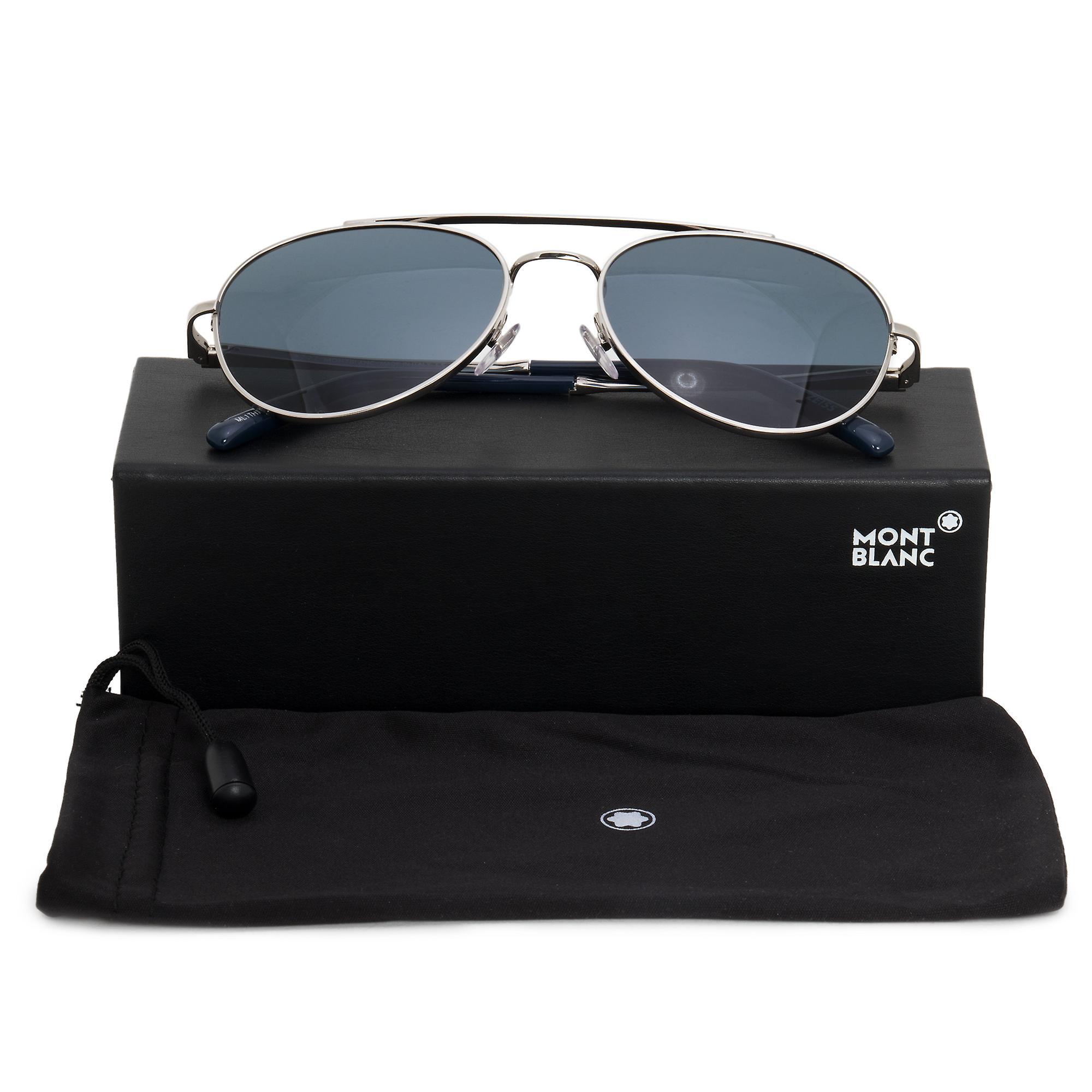 Montblanc Aviator Sunglasses MB605S 16V 56