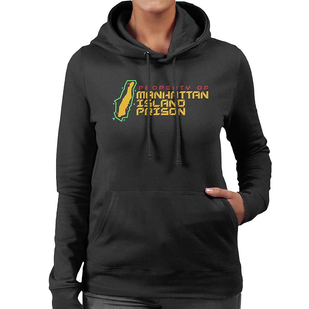 Prison de l'île de Manhattan Escape From Hooded Sweatshirt New York féminines