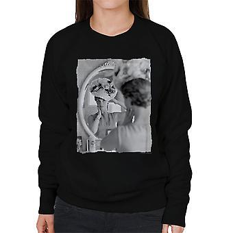 TV Times Julie Andrews Floral Hat Women's Sweatshirt