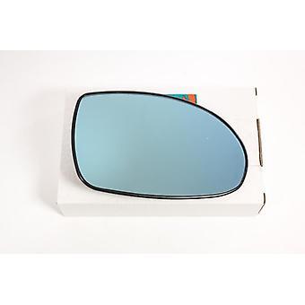 Højre fører side blåt spejlglas (opvarmet) & holder til Citroen C5 2004-2008