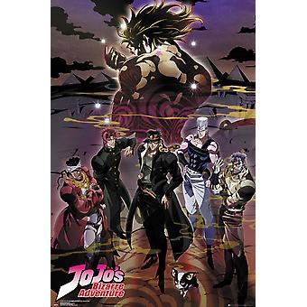 Bizarre Adventure de jojo's Group affiche Maxi 61x91.5cm