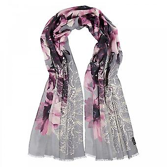 Fraas Multi Print Long Scarf
