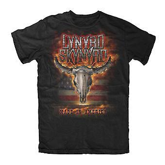 Lynyrd Skynyrd-Flaming Skull T-Shirt