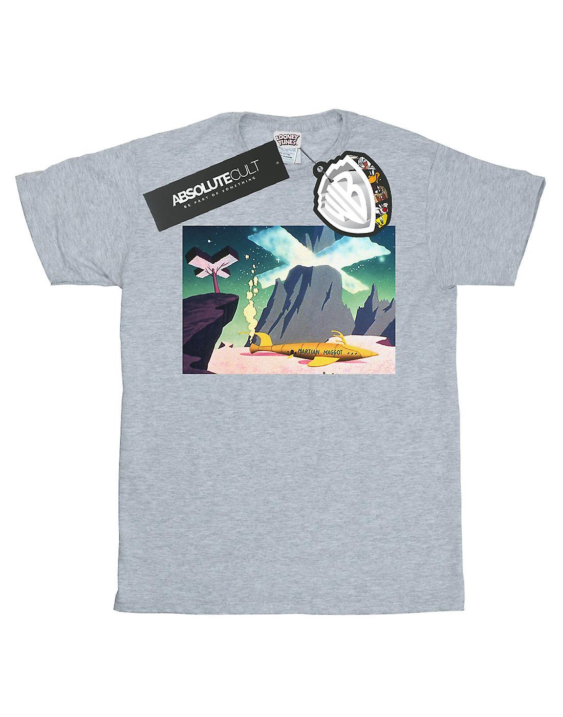 Looney Tunes Women's Martian Maggot Boyfriend Fit T-Shirt