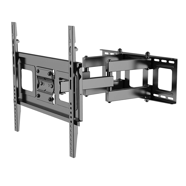 Fleximtellingen A11 Full Motion draaibare Tilt articulating TV muurbeugel voor de meeste Sony/Samsung/LG plasma LED/LCD/HD 32-50, zwart