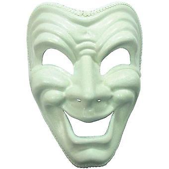 Happy Mask. White.