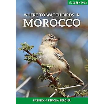 Where to Watch Birds in Morocco by Patrick Bergier - Fedora Bergier -