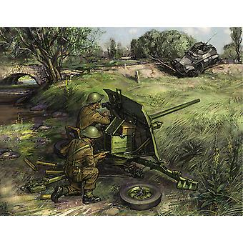 Zvezda Model Z6169 Armoured Assault Rifle Canon British And Servants
