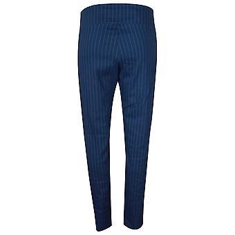 Crea Concept Pull On Pin Stripe Stretch Trousers