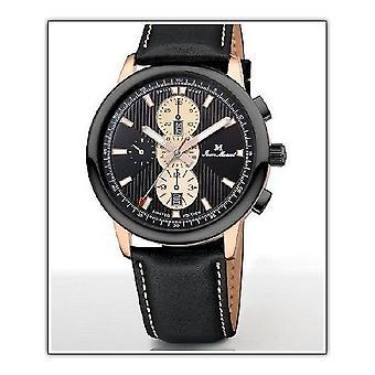 Jean Marcel Palmarium bracelet mens watch automatic chronograph 764.270.32