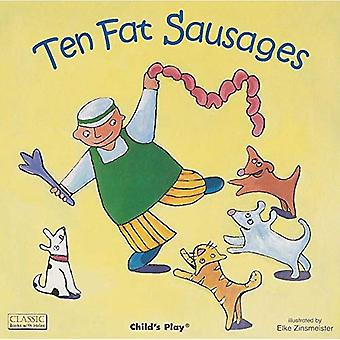 10 saucisses gras (livres grands classiques avec la série de trous)