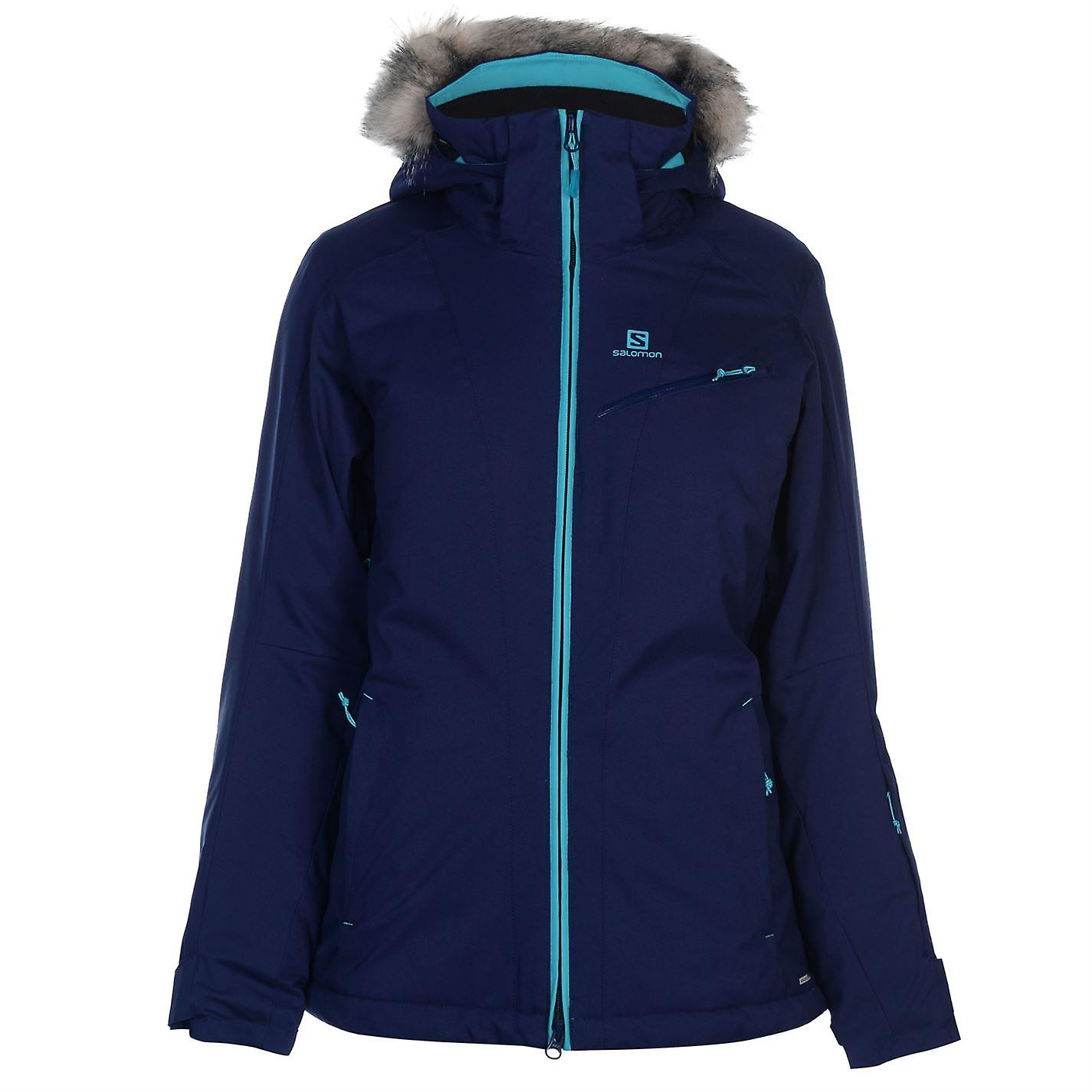 Salomon Womens Rise Ski Jacket Top