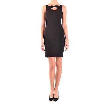 Moschino Ezbc015031 Women's Black Acetate Dress