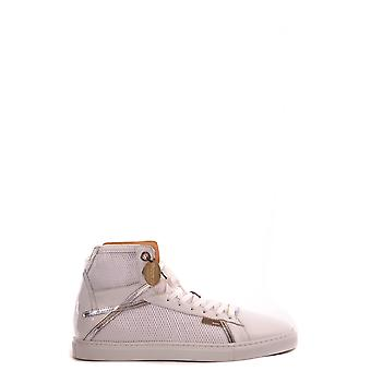 Cesare Paciotti Ezbc112008 Femmes-apos;s White Leather Hi Top Sneakers