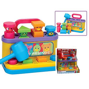 Fun TIme Pop-up Friends Interactive Toy