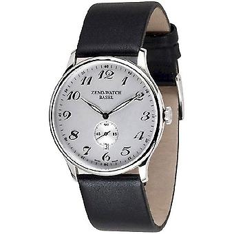 Zeno-Watch miesten katsella tasainen Bauhaus kvartsi 6493Q-E3