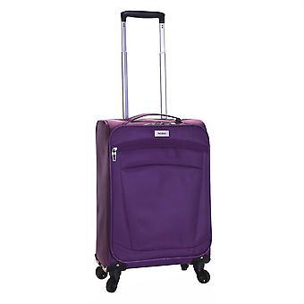 Karabar Marbella 55 cm Lightweight Suitcase, Aubergine