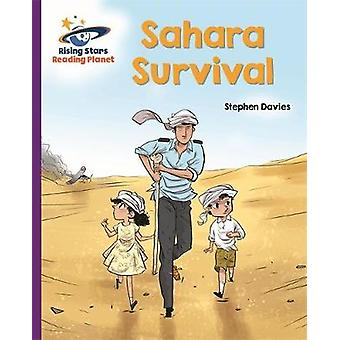 Reading Planet - Sahara Survival - Purple - Galaxy by Stephen Davies -
