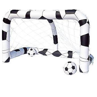 Bestway Inflatable Soccer/Football Net Includes 2 Inflatable Footballs & Repair