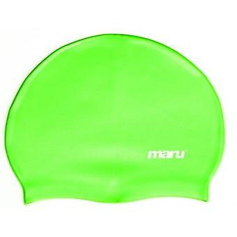 Stevige siliconen zwemmen Hat