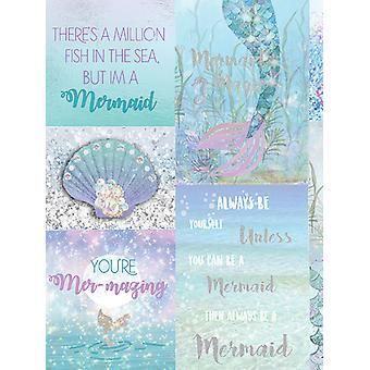 Mermazing Mermaid Glitter Wallpaper Arthouse