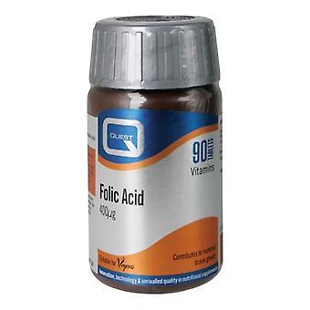 Quest Vitamins Folic Acid 400mcg Tabs 90 (601097)