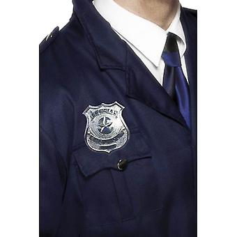 Smiffy's Metal Police Badge
