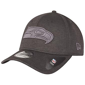 New Era 39Thirty Cap - SHADOW TECH Seattle Seahawks graphite