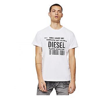 Diesel T-Diego B6 T-skjorte hvit