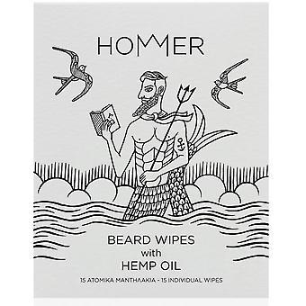 Hommer Beard Wipes - Beard Wipes