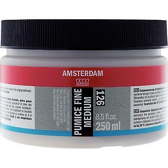 アムステルダム ファイン軽石 アクリル塗装ミディアム 250ml