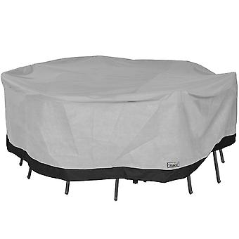 Round Patio Table and Chair Set Outdoor Furniture Cover - 90