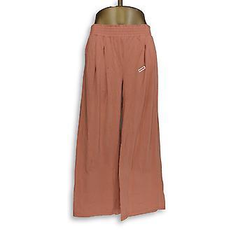 Anybody Women's Pants Cozy Knit Wide-Leg Pink A347172