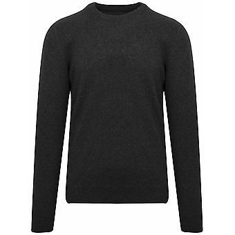 Barbour Tisbury Black Wool Sweatshirt
