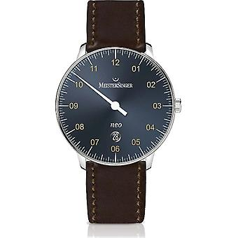 MeisterSinger Men's Watch Shape and Style Neo Plus Single-Hand Watch Automatic NE417G_SCF02
