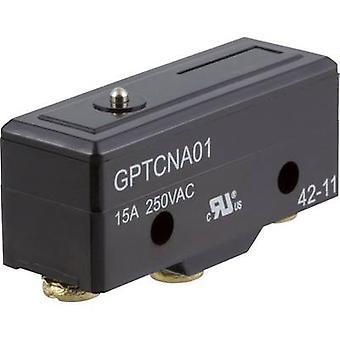 ZF Microswitch GPTCNA01 250 V AC 15 A 1 x On/(On) momentary 1 pc(s)