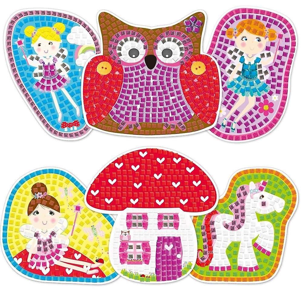 Galt Fairy Sparkle Mosaics - Craft Kit