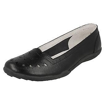 Dames tot aarde plat Comfort Ballerina schoenen F80205