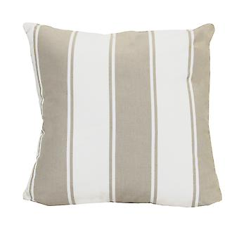 Stylish Beige Stripe Pillow