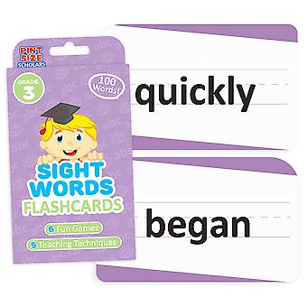 Sight Words Flashcards, Tercer Grado